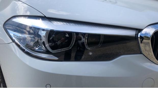 2019 BMW 520d M Sport Touring (White) - Image: 22
