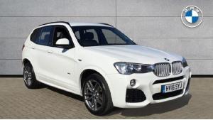 2016 BMW X3 xDrive35d M Sport 5-door