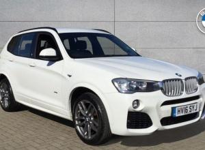 Brand new 2016 BMW X3 xDrive35d M Sport 5-door finance deals
