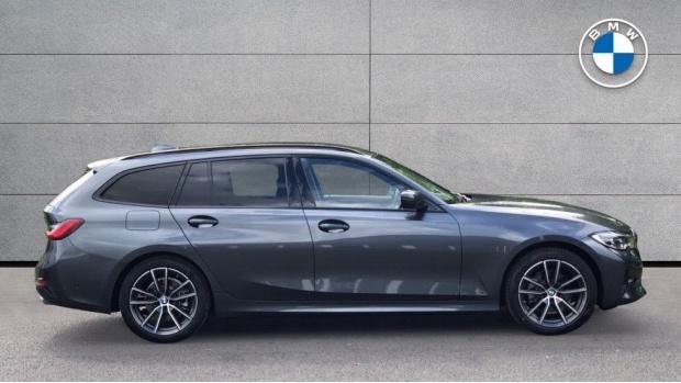 2021 BMW 320d Sport Touring Auto 5-door (Grey) - Image: 3