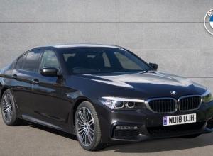 Brand new 2018 BMW 5 Series 520d M Sport Saloon 4-door finance deals