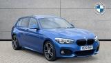 2019 BMW 120i M Sport Shadow Edition 5-door (Blue) - Image: 1