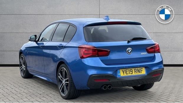 2019 BMW 120i M Sport Shadow Edition 5-door (Blue) - Image: 2