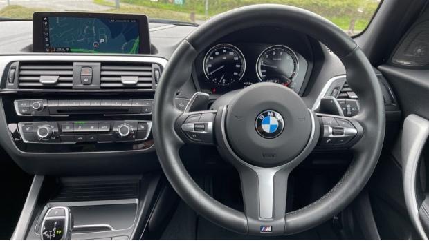 2019 BMW 120i M Sport Shadow Edition 5-door (Blue) - Image: 5