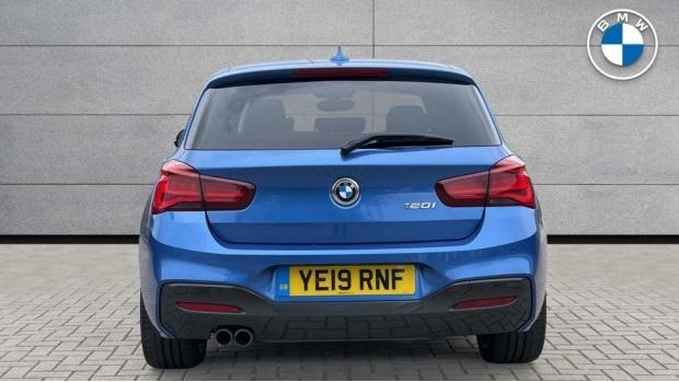 2019 BMW 120i M Sport Shadow Edition 5-door (Blue) - Image: 15