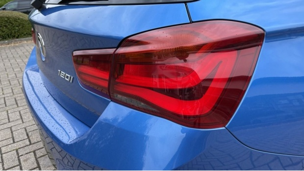 2019 BMW 120i M Sport Shadow Edition 5-door (Blue) - Image: 21