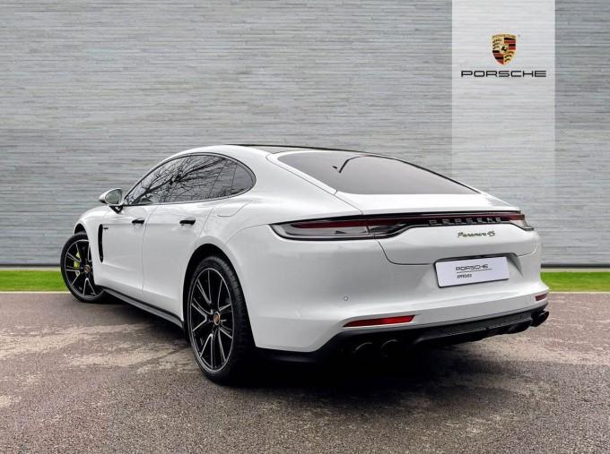 2021 Porsche V6 E-Hybrid 17.9kWh 4S PDK 4WD 4-door (White) - Image: 2