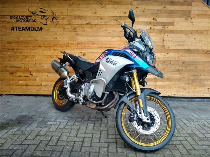 2020 BMW F850GS Adventure Unlisted Unknown (Blue) - Image: 2