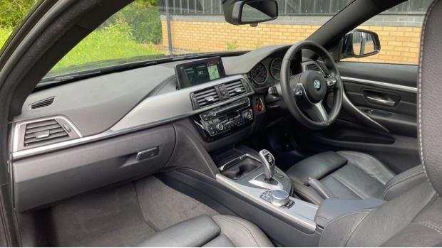 2018 BMW 420d M Sport Coupe (Grey) - Image: 7