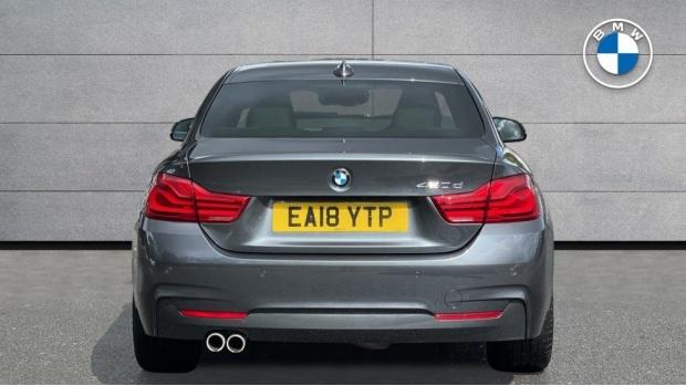 2018 BMW 420d M Sport Coupe (Grey) - Image: 15