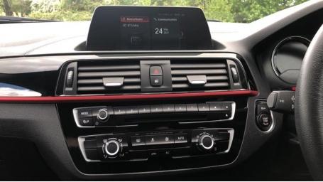 2018 BMW 118d Sport 5-door (White) - Image: 8