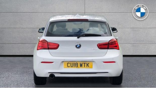 2018 BMW 118d Sport 5-door (White) - Image: 15