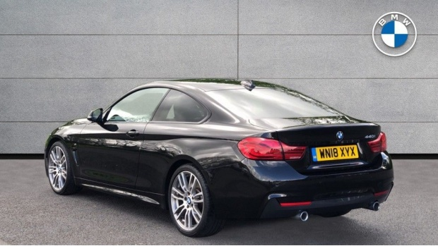 2018 BMW 440i M Sport Coupe (Black) - Image: 2