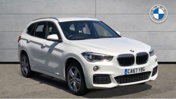 2017 BMW XDrive20i M Sport (White) - Image: 1