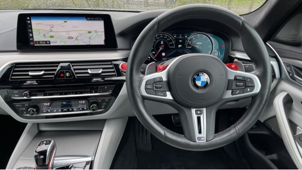 2018 BMW Competition Saloon (Grey) - Image: 5