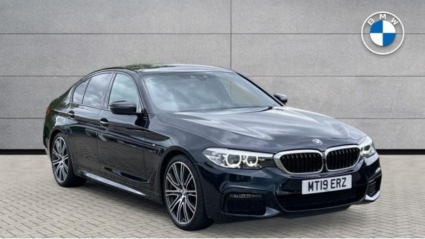 2019 BMW 530d M Sport Saloon (Black) - Image: 1