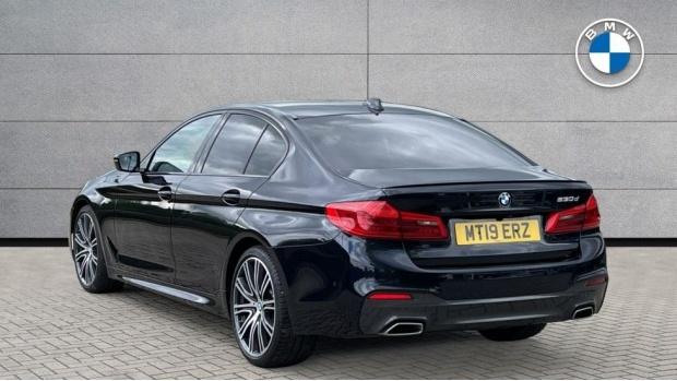 2019 BMW 530d M Sport Saloon (Black) - Image: 2