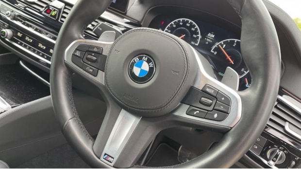 2019 BMW 530d M Sport Saloon (Black) - Image: 30