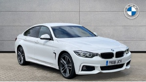 2018 BMW 4 Series Gran Coupe 420d xDrive M Sport Gran Coupe 5-door