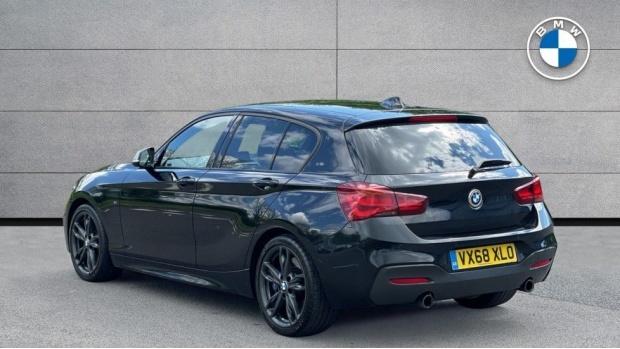 2018 BMW M140i Shadow Edition 5-door (Black) - Image: 2