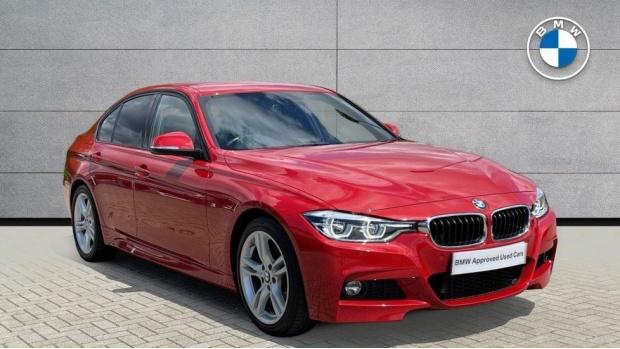 2019 BMW 320i M Sport Saloon (Red) - Image: 1