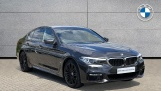 2018 BMW 530e M Sport iPerformance Saloon (Grey) - Image: 1