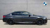 2018 BMW 530e M Sport iPerformance Saloon (Grey) - Image: 3