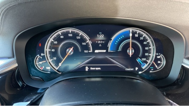 2018 BMW 530e M Sport iPerformance Saloon (Grey) - Image: 9