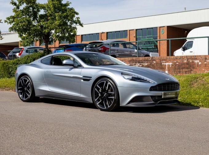 2016 Aston Martin V12 Touchtronic III 2-door (Silver) - Image: 1