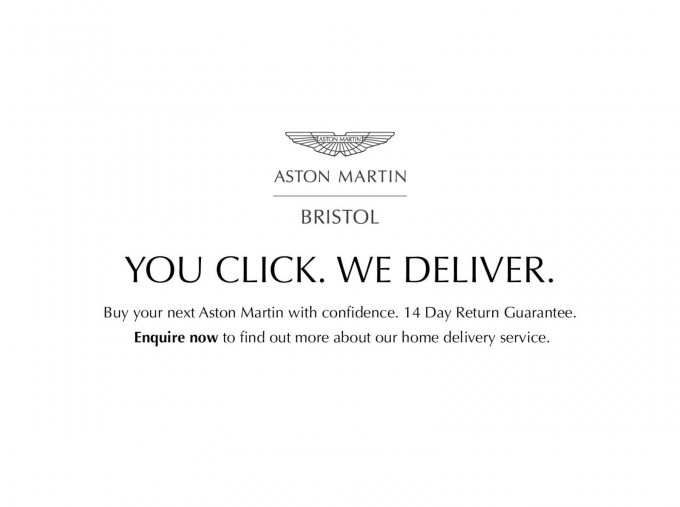 2016 Aston Martin V12 Touchtronic III 2-door (Silver) - Image: 2