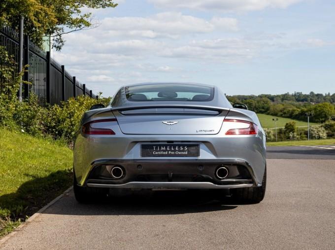 2016 Aston Martin V12 Touchtronic III 2-door (Silver) - Image: 9