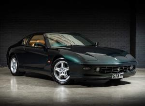 1998 Ferrari 456M GTA 2-door