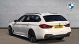 2021 BMW 520d M Sport Touring (White) - Image: 2
