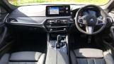 2021 BMW 520d M Sport Touring (White) - Image: 4