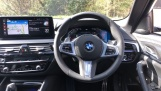 2021 BMW 520d M Sport Touring (White) - Image: 5