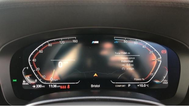 2021 BMW 520d M Sport Touring (White) - Image: 9