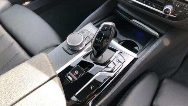 2021 BMW 520d M Sport Touring (White) - Image: 10