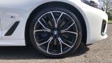 2021 BMW 520d M Sport Touring (White) - Image: 14