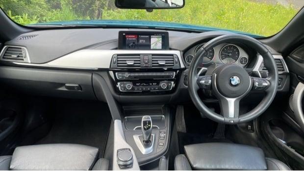 2018 BMW 440i M Sport Convertible (Blue) - Image: 4