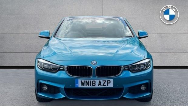 2018 BMW 440i M Sport Convertible (Blue) - Image: 16