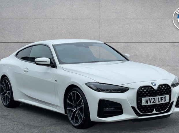 Reserve your 2021 BMW 4 Series 420d M Sport Coupe 2-door