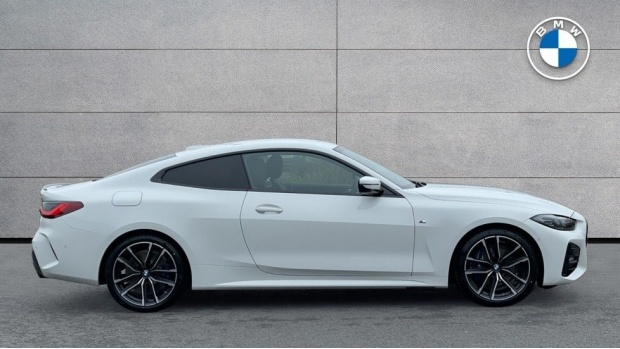 2021 BMW 420d M Sport Coupe (White) - Image: 3