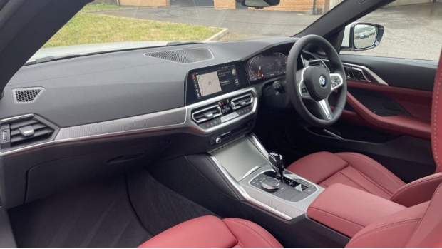 2021 BMW 420d M Sport Coupe (White) - Image: 7