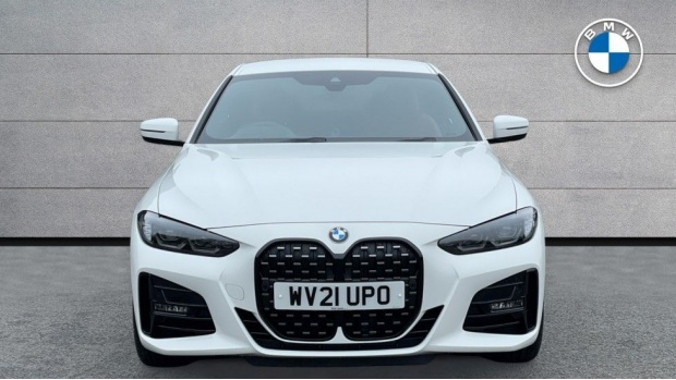 2021 BMW 420d M Sport Coupe (White) - Image: 16