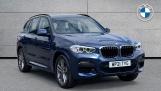 2021 BMW XDrive20i M Sport (Blue) - Image: 1