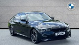 2021 BMW 320i xDrive M Sport Saloon (Black) - Image: 1