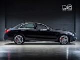 2020 Mercedes-Benz C63 V8 BiTurbo AMG S SpdS MCT 4-door (Black) - Image: 3