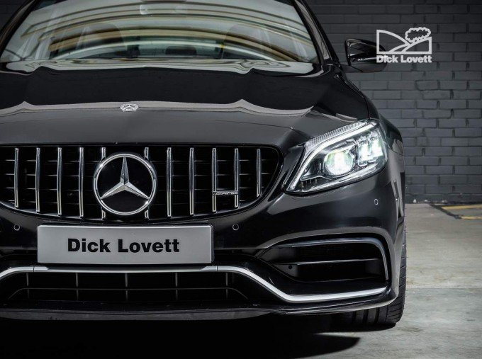 2020 Mercedes-Benz C63 V8 BiTurbo AMG S SpdS MCT 4-door (Black) - Image: 7