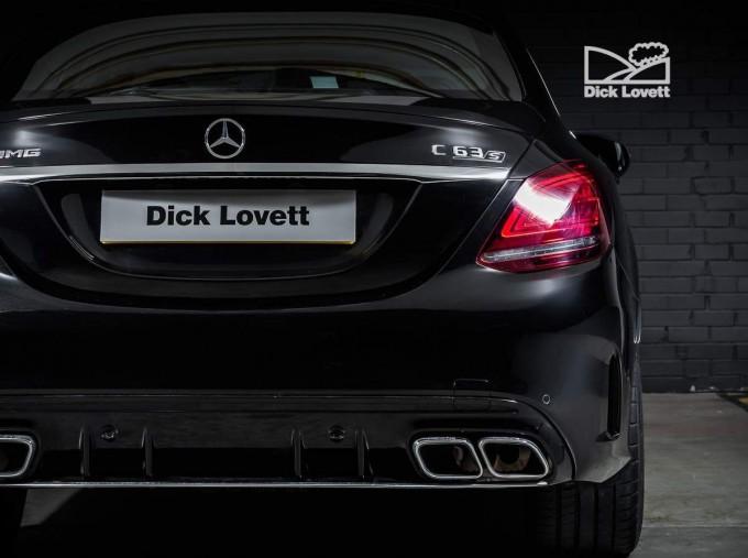 2020 Mercedes-Benz C63 V8 BiTurbo AMG S SpdS MCT 4-door (Black) - Image: 9