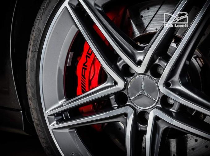2020 Mercedes-Benz C63 V8 BiTurbo AMG S SpdS MCT 4-door (Black) - Image: 14